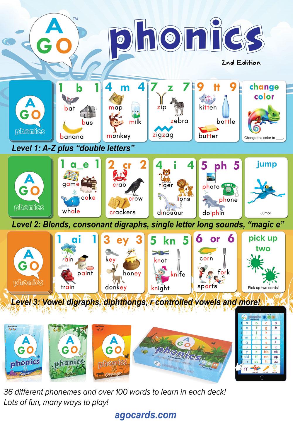 AGO EFL card game-AGO Phonics